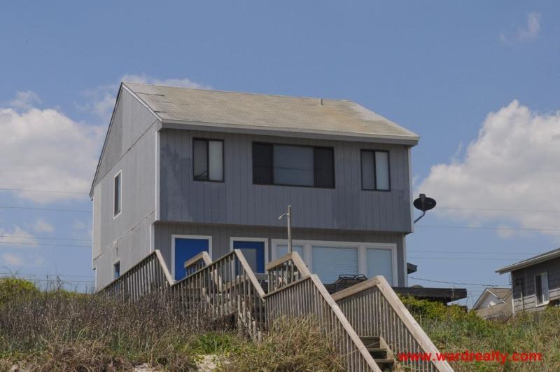 Oceanfront Exterior - Nancy & Clara's - Surf City - rentals