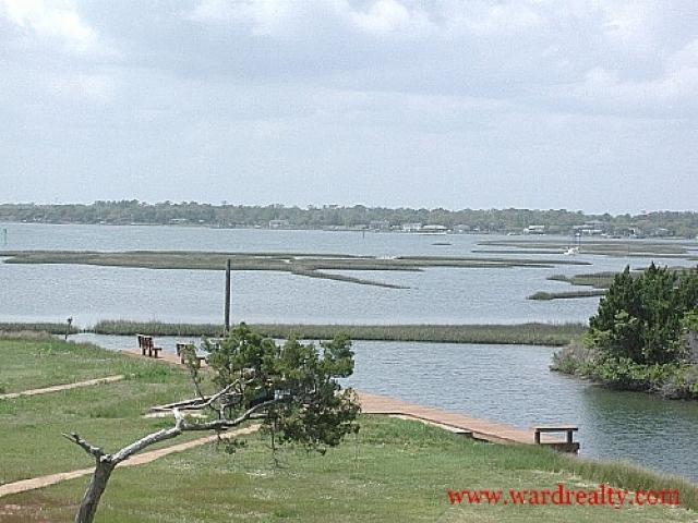 View of Intracoastal Waterway - Nancy's Too - Surf City - rentals