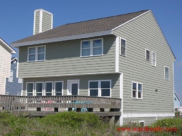 Oceanfront Exterior - Oceanic - Surf City - rentals