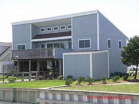 Soundfront Exterior - Ordanic - Topsail Beach - rentals