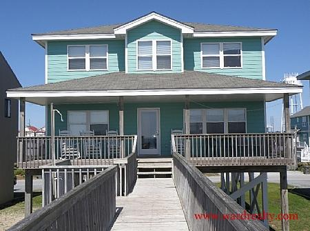 Oceanfront Exterior - Sea Crest - Surf City - rentals