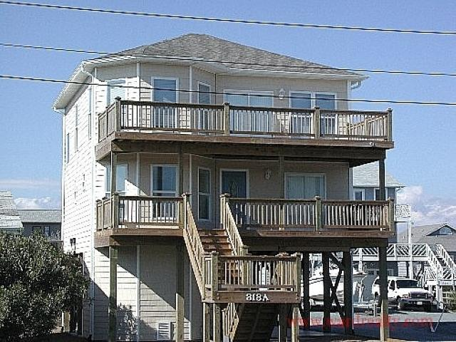Exterior - Sea-Duction - Topsail Beach - rentals