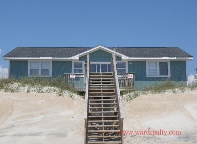 Oceanfront Exterior - Sea-Renity - Surf City - rentals