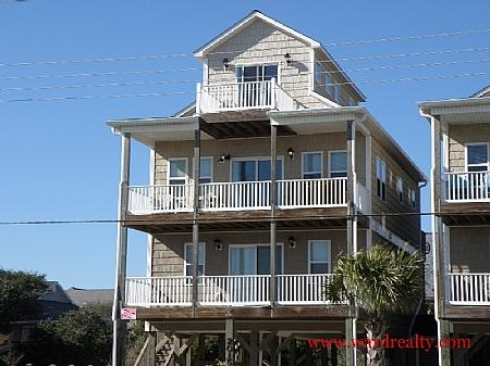 Karma's A Beach - Shore Leave - Surf City - rentals