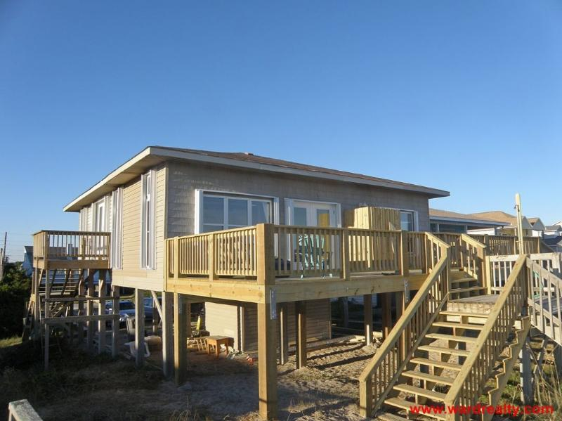Oceanfront Exterior - The Last Checker - Surf City - rentals