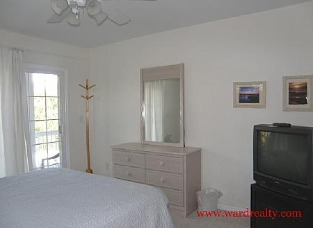 Downstairs Soundside Bedroom Too - Time Out - Topsail Beach - rentals