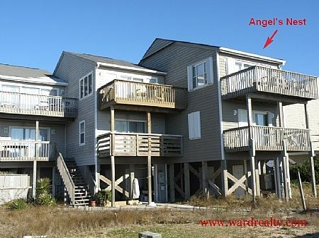 Oceanfront Exterior - Angel's Nest - formerly Virtual Reality - Surf City - rentals