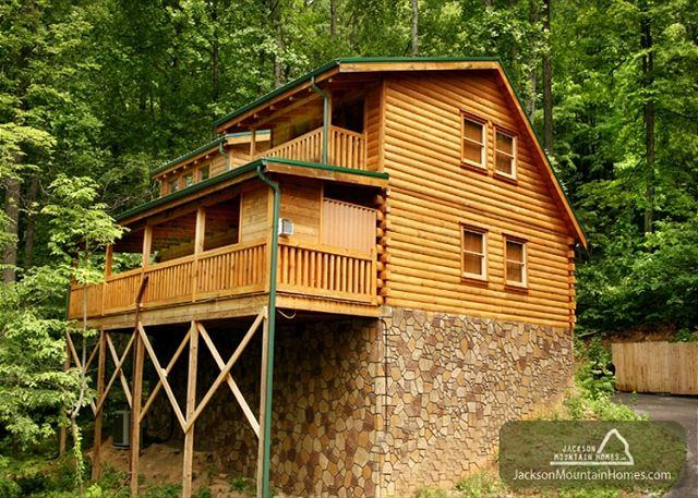 Back to Nature  Outdoor Fireplace Hot Tub View WiFi Gaming Free Nights - Image 1 - Gatlinburg - rentals