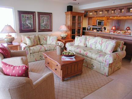 Living Room - The Club at Naples Cay 603 - Naples - rentals