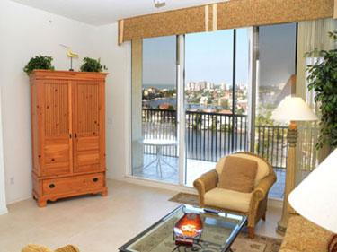 Living Room - The Regatta 2-PH06 - Naples - rentals