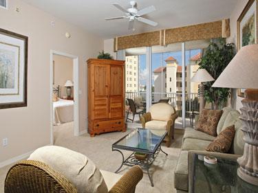 Living Room - The Regatta 5-505 - Naples - rentals