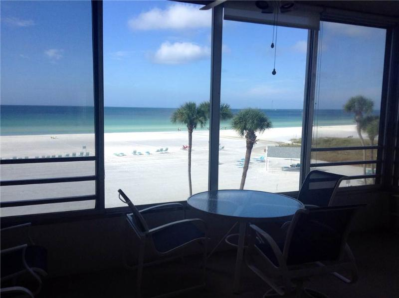 Enjoy spectacular sunsets from this amazing 1BR - 6 South - Image 1 - Siesta Key - rentals