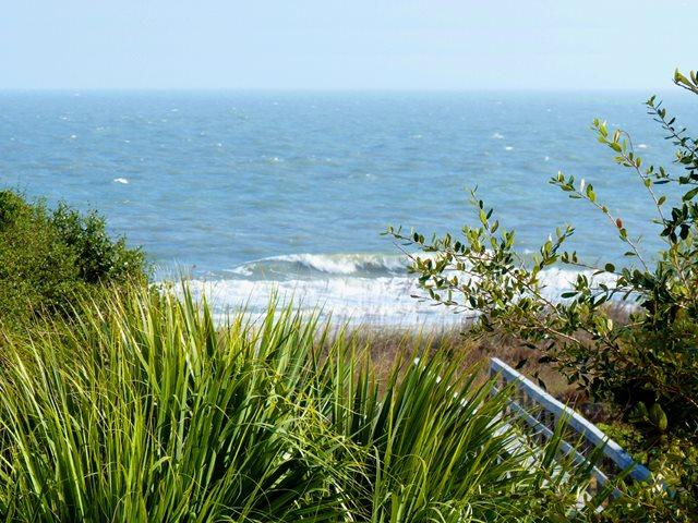 Ocean view - zoomed - Island Club, 6303 - Hilton Head - rentals