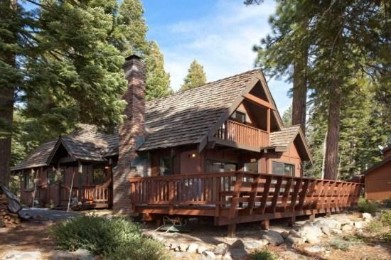 Tahoe Vista Lake View Vacation Rental Cabin - Image 1 - Tahoe Vista - rentals