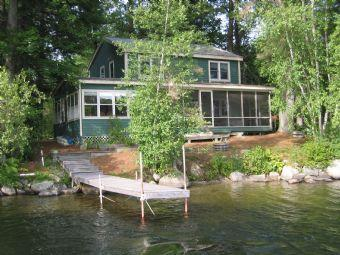 Picturesque House with 3 BR & 1 BA in Moultonborough (324) - Image 1 - Moultonborough - rentals
