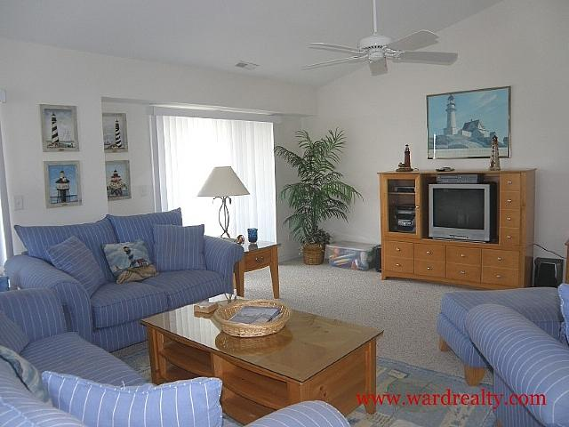 Living Room - Sound 'n' Surf - Surf City - rentals