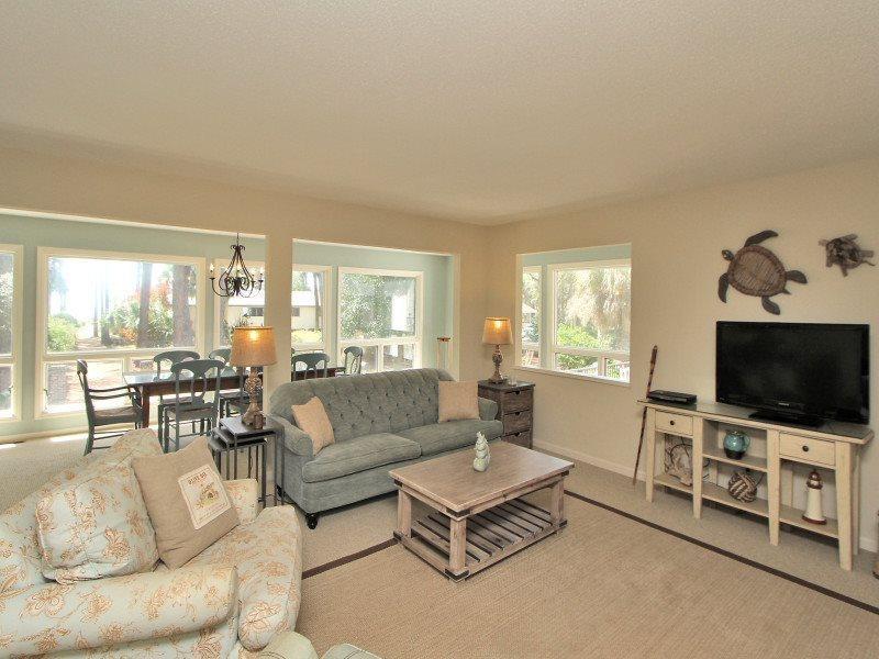 Living Room at 11 Sea Oak Lane - 11 Sea Oak Lane - Forest Beach - rentals