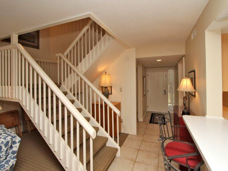Entryway at 1410 South Beach Villa - 1410 South Beach Villa - Sea Pines - rentals