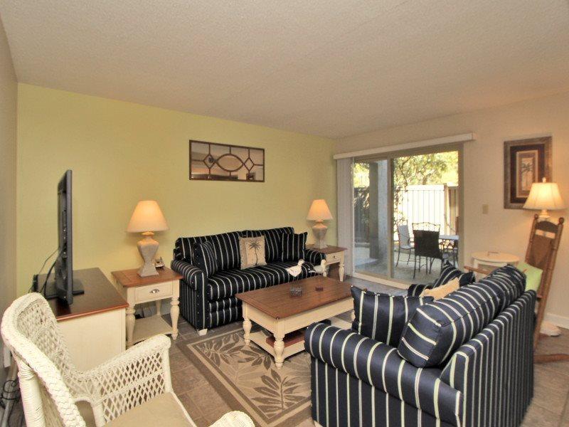 Living Room at 1704 Bluff Villa - 1704 Bluff Villa - Sea Pines - rentals