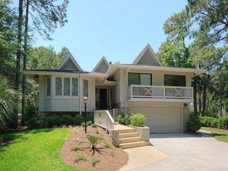 1 Wren - Front of Home - 1 Wren - Sea Pines - rentals
