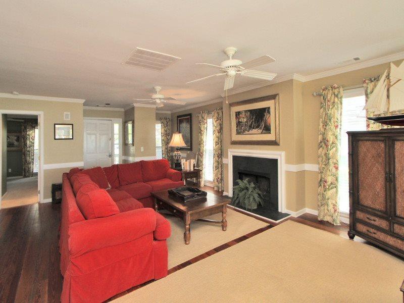 Living Room at 31 Lands End Road - 31 Lands End Road - Sea Pines - rentals