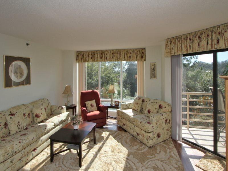 Living Room at 3228 Villamare - 3228 Villamare - Palmetto Dunes - rentals