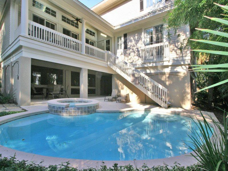 Pool and Spa at 4 Juniper Lane - 4 Juniper Lane - Forest Beach - rentals