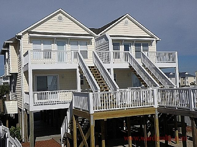 Oceanfront Exterior - 2 Britt Buoys - Surf City - rentals