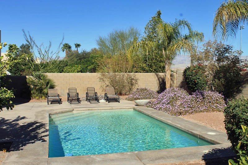 Backyard  Pool  - Palm Desert Santa Fe - Bermuda Dunes - rentals