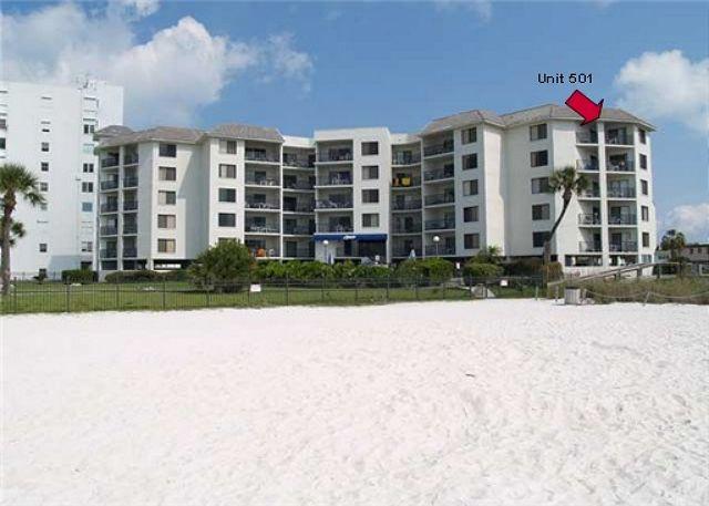 Beachfront condominium located directly on the Gulf of Mexico in St Pete Beach - Caprice #501 - Saint Pete Beach - rentals
