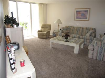 Living Room - SST3-704 - South Seas Tower - Marco Island - rentals
