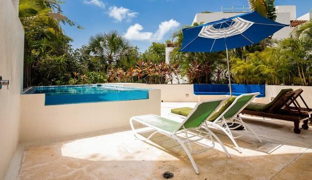 Bosque de los Aluxes UNIT 103- Private pool 3 bed - Image 1 - Playa del Carmen - rentals
