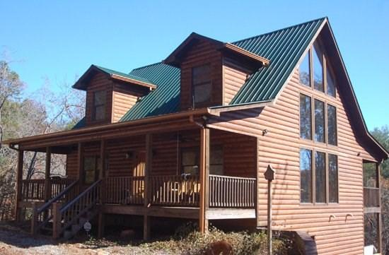 THE BOONDOCKS- 2BR/2.5BA, SLEEPS 6, KING SUITES, HOT TUB, MTN. VIEW CABIN, WIFI, GAS LOG FIREPLACE, $120/NIGHT! - Image 1 - Blue Ridge - rentals