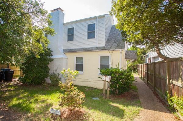 Front Exterior - 108A 87th Street - Virginia Beach - rentals