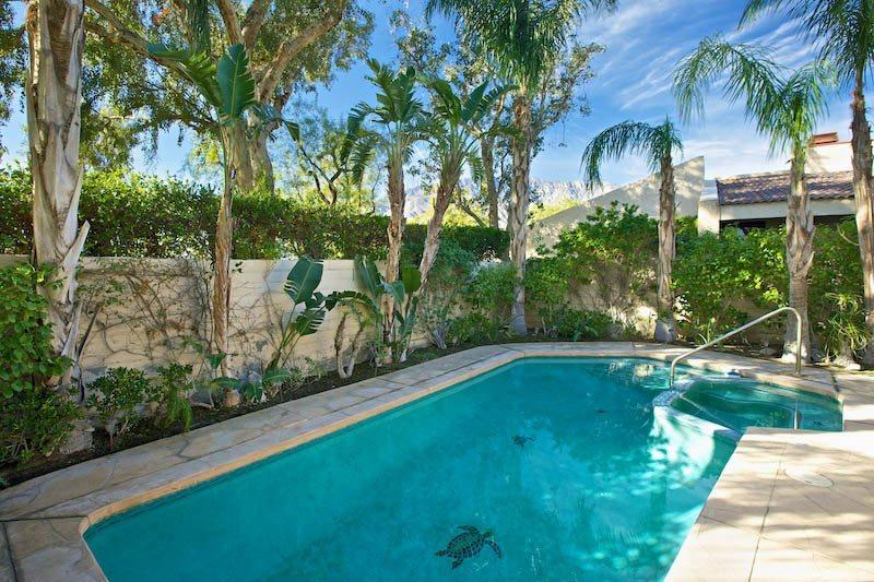 Private Pool and Spa in Backyard - Sundance Resort Two Bedroom Villa 821 - Palm Springs - rentals