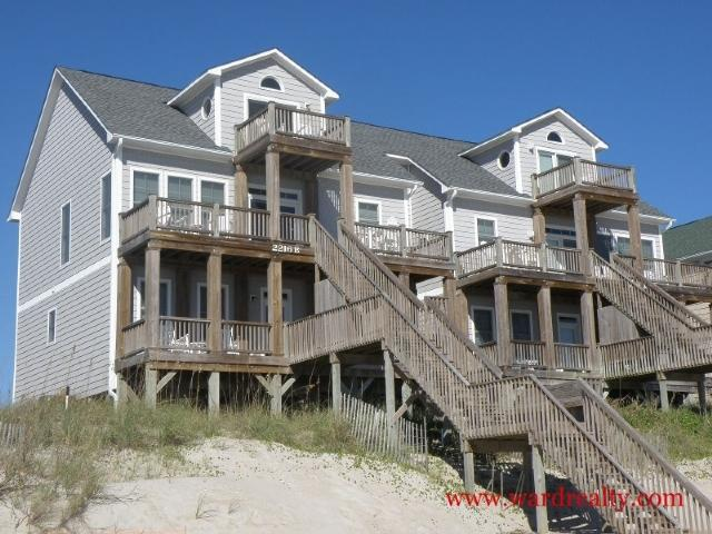 Oceanfront Exterior - Inn Luxury South - Surf City - rentals