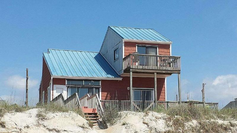 Oceanfront Exterior - Sea Dog - Surf City - rentals