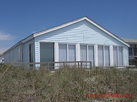 Oceanfront Exterior - You N Sea - Surf City - rentals