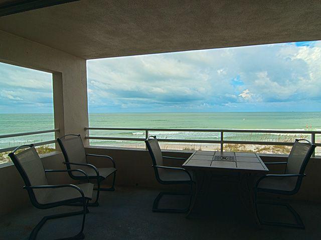 View from Balcony - Coquina Beach Club - Bradenton Beach - rentals
