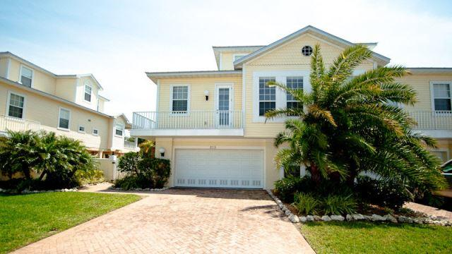Front entrance to your luxury Island Walk Townhome - Island Walk 313 - Holmes Beach - rentals