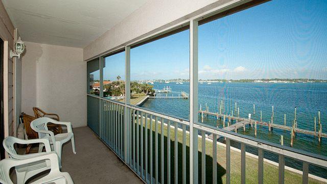 Balcony View - Pelican Cove - Bradenton Beach - rentals