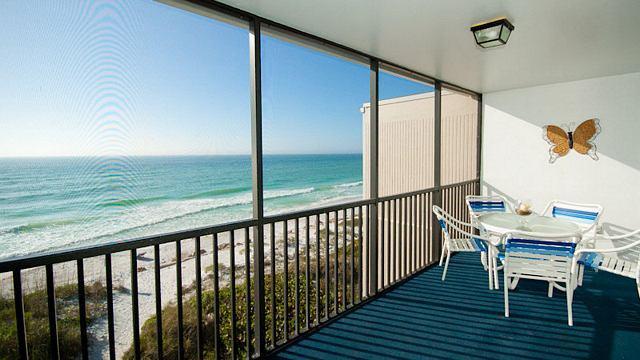 Balcony - Sunset Terrace - Bradenton Beach - rentals