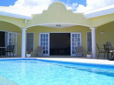 pool and terrace - NEW LUXURY VILLA  PRIVATE POOL SEA VIEWS - Oistins - rentals