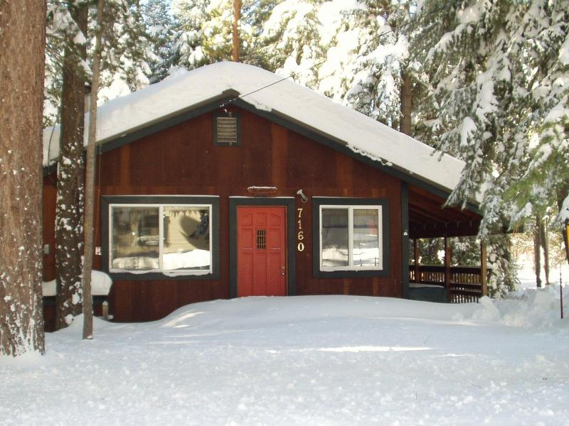 Welcome to Two Morrows Tahoe Cabin. Our driveway is always plowed and free of snow. - Two Morrows Tahoe Cabin on the Westshore - Tahoma - rentals