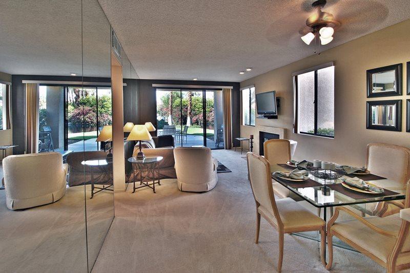 Looking Out to Patio  - PGA West Two Bedroom #756 - La Quinta - rentals