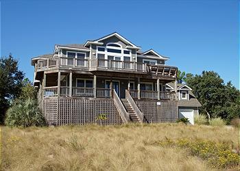 SS128- High Dune Vista; A 6BDRM HIDDEN GEM! - Image 1 - Southern Shores - rentals
