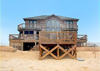 KH5205- KATMANDUNES! 4 BDRM OCEANFRONT W/ HOT TUB - Image 1 - Kitty Hawk - rentals
