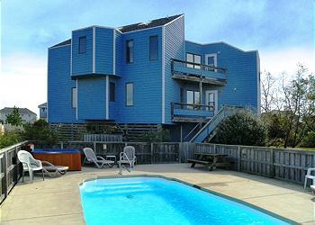 WH971- Whale Watch West; PRIVATE POOL & HOT TUB! - Image 1 - Corolla - rentals