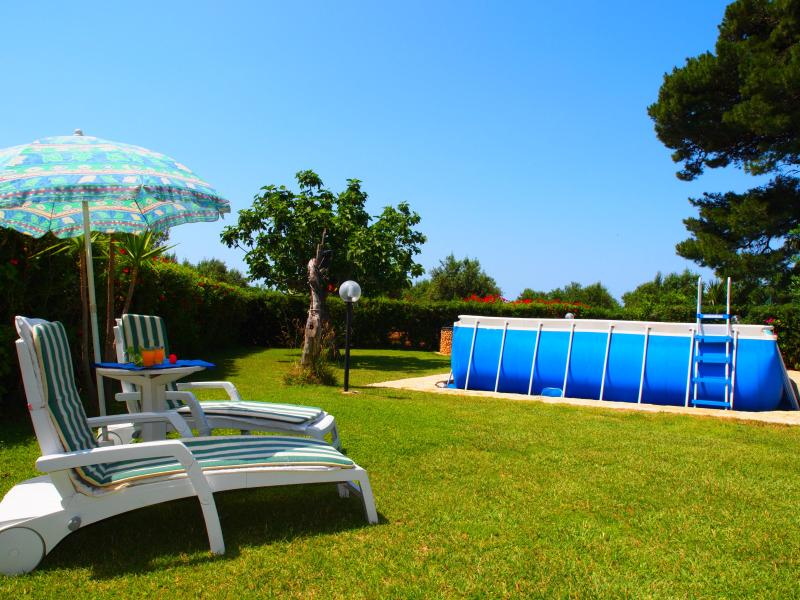 private garden and pool - House with Private Pool - 6/7 sleeps- FREE Wi-Fi - San Vito lo Capo - rentals