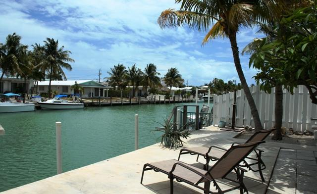 Canal view - Tropical Tranquility, island living!  # 1A - Key Colony Beach - rentals